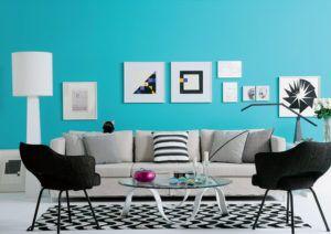 Azul turquesa casas
