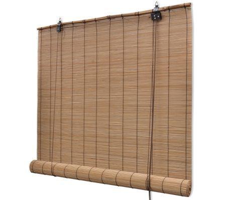 Rolgordijn Bamboe 80 X 160 Cm Bruin Online Kopen Bij Vidaxl Nl Gratis Verzending Retour Verrassend Groot Assor Store Bambou Store Roulant Volet Roulant