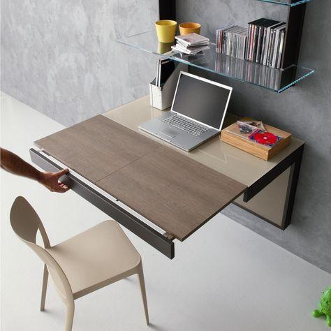 Tavolo A Consolle Allungabile Ikea.Libreria Con Scrivania A Scomparsa Ikea Scrivania A Scomparsa