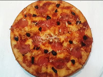 Salted Cake Kika Malha Sahla كيكة مالحة سهلة Food Pepperoni Pizza Pepperoni
