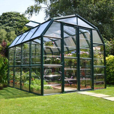 Patio Garden Polycarbonate Greenhouse Garden Design