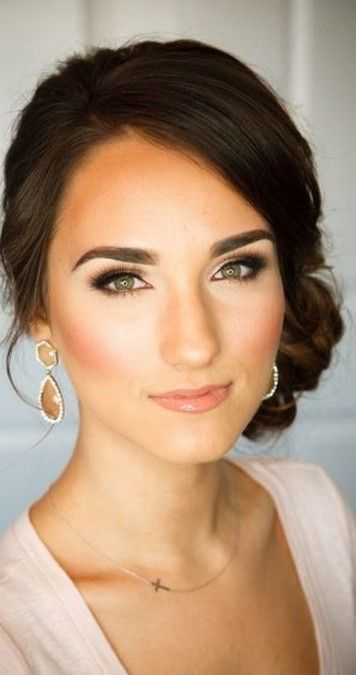 35 Bridal Makeup When Wedding In The Daytime In 2020 Bridal