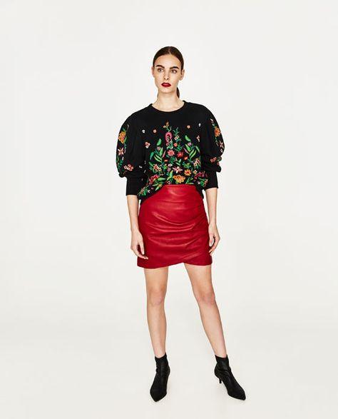 vari colori Stati Uniti sporchi online negozio del Regno Unito FALDA POLIPIEL MINI | Minigonne, Mini gonne in pelle e Abbigliamento