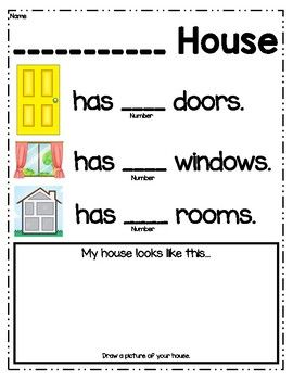 This activity was designed to align with the Creative Curriculum Buildings Study. This is a home activity for children to complete with their parents. This document is in both English and Spanish. # my home activities My House Home Activity Creative Curriculum Preschool, Preschool At Home, Preschool Classroom, Preschool Learning, Kindergarten, Head Start Classroom, Classroom Jobs, Pre K Activities, Social Studies Activities