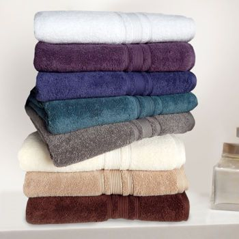 Costco Charisma 100 Hygro Cotton 674 Gsm 6 Pc Towel Set