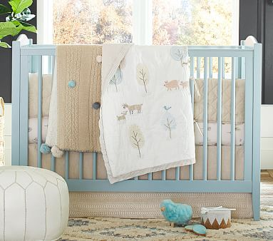 Emerson Convertible Crib In 2020 Woodland Baby Bedding Baby