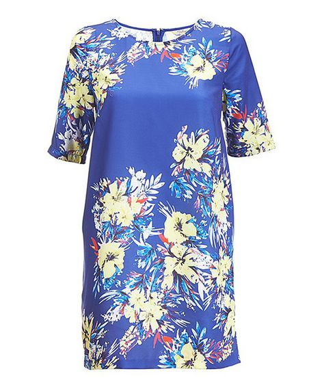 Love this Darling French Navy Floral Raquel Tunic by Darling on #zulily! #zulilyfinds