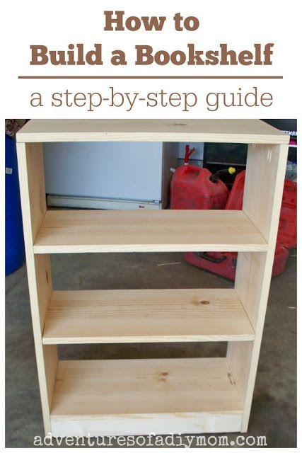 How To Build A Bookshelf Diy Furniture Easy Diy Bookshelf Plans