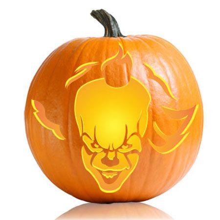 Image Result For Pennywise Pumpkin Scary Pumpkin Carving Pumpkin Stencil Halloween Pumpkin Templates