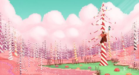 Candy Cane Forest Wreck It Ralph Google Search Wreck It Ralph