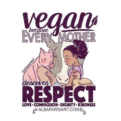 vegan mother