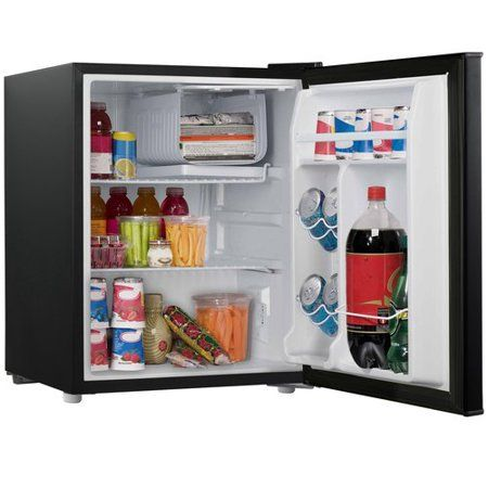 Galanz 2 7 Cu Ft Single Door Mini Fridge Gl27bk Black Walmart Com Dorm Refrigerator Mini Fridge Compact Refrigerator
