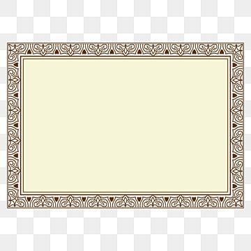 New A4 Size Certificate Design In Vector File For Free Download Border Design Clipart Certificate Frame Png Certificate Frame Design Png And Vector With Tran Certificate Frames Frame Design Certificate Design