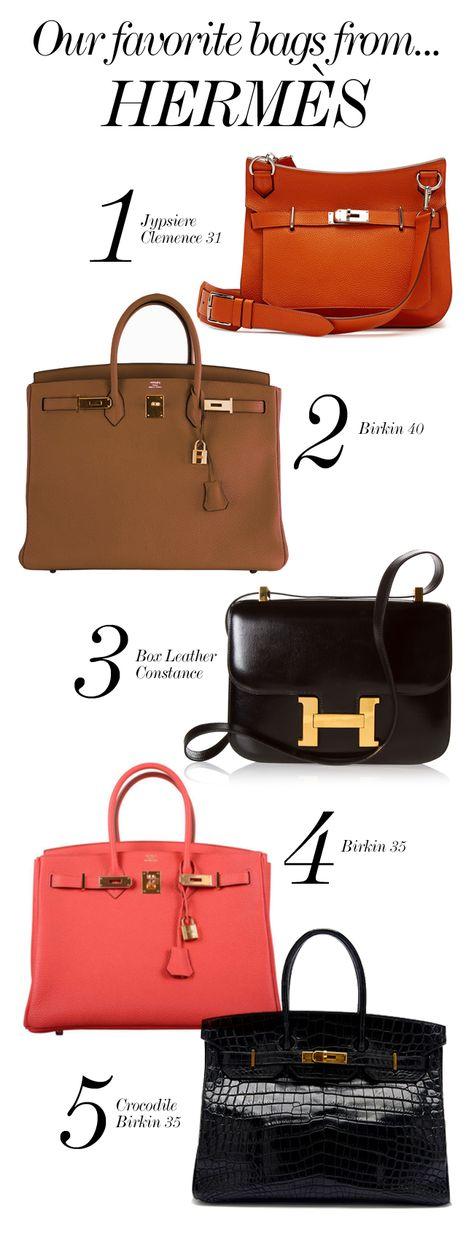 HERMÈS  //  Our Favorite Bags