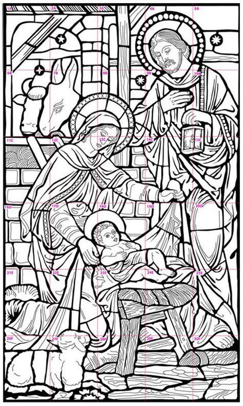 Nativity Mural Art Projects For Kids Nativity Coloring Pages Nativity Coloring Christmas Coloring Pages
