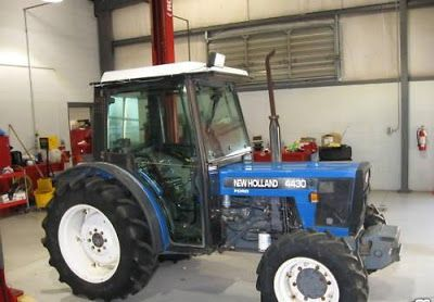 Ford New Holland 4430 4 Cylinder Narrow Orchard Tractor Master