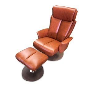 Now Sales Sapphire Leather Manual Swivel Recliner With Ottoman World Source Design Recliner With Ottoman Leather Recliner Swivel Recliner