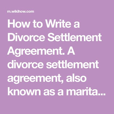 How To Effectively Negotiate Your Divorce Settlement And Come To