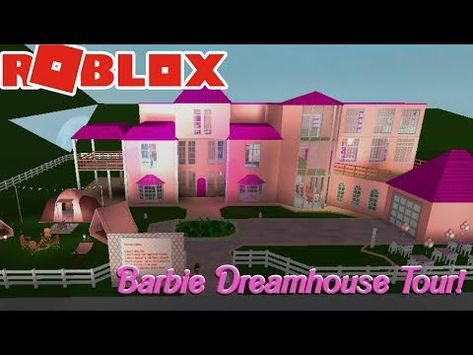 Roblox My Dollhouse Youtube Roblox Welcome To Bloxburg Barbie Dreamhouse Tour Youtube Barbie Dream House Roblox Barbie
