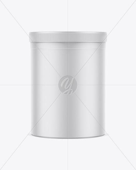 Download Matte Cylindrical Plastic Jar Mockup In Jar Mockups On Yellow Images Object Mockups Plastic Jars Mockup Free Psd Mockup Psd PSD Mockup Templates
