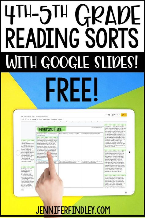 Free reading sorts for grades with idea for implementation! These make perfect reading centers, stations, and independent practice reading activiites. Teaching 5th Grade, 5th Grade Classroom, 5th Grade Reading, 5th Grade Writing, Reading Fluency, Teaching Reading, Free Reading, Reading Centers, Reading Lessons