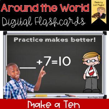 Around the World- Digital Edition Make a Ten
