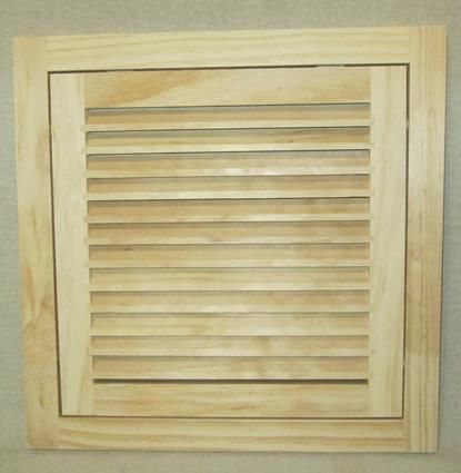 14x14 Wood Return Air Filter Grille Air Filter Air Vent Covers Grilles