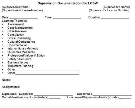 In Our Lsw Lcsw Prep Classes We Recommend Lsws Use This Form To