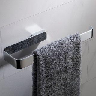 Kraus Stelios Kea 19925 Bathroom Towel Ring In Chrome Grey Brushed Nickel Matte Black Finish Chrome Finish Chrome Ch Towel Rings Bathroom Towels Towel