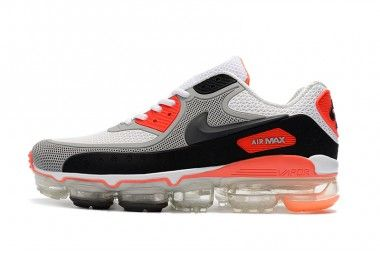 competitive price edca7 1b42d Off White X Nike Air Max 90 Black White Orange