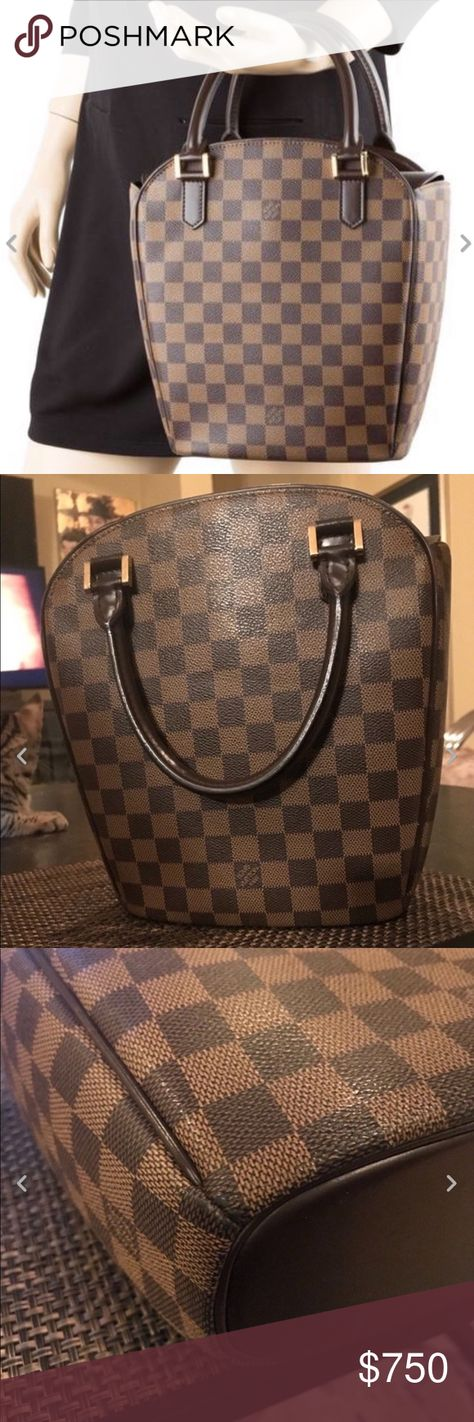 2de8620c606f LOUIS VUITTON Sarria Seau Bag 💯AUTHENTIC 100% Authentic Damier Ebene Sarria  Seau in excellent condition! This is fantastic handbag for your essentials