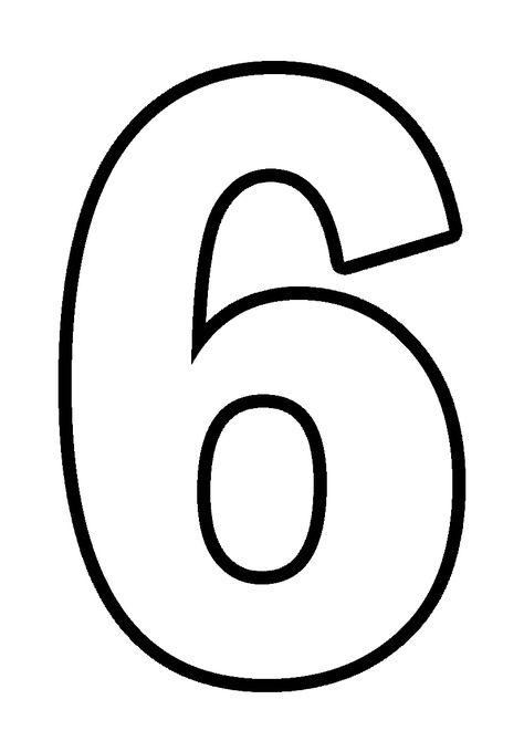 Цветные цифры формат а4 скачать