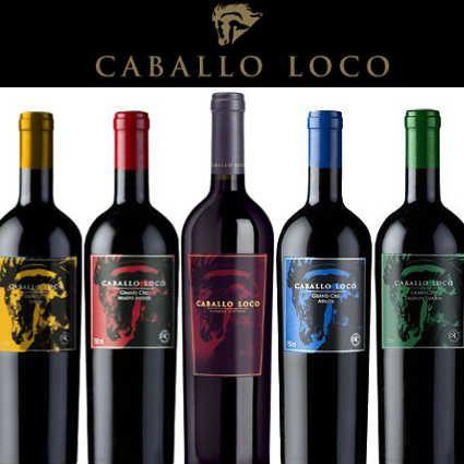 Caballo Loco Mix 5 Botellas Caja Deluxe En 2020 Botellas De Vino