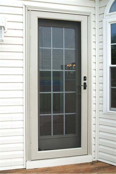 Installing A Storm Door Is Among The Smartest Residence Repairs You Could Undertake Before Cool Autumn As Well As Glass Storm Doors Storm Door Best Storm Doors