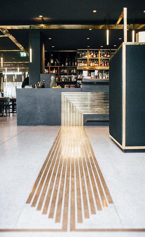 Art Deco Restaurant Bar 51 Ideas For 2019 Architecture Restaurant, Restaurant Interior Design, Design Hotel, Modern Interior Design, Gold Interior, Luxury Interior, Contemporary Interior, Restaurant Interiors, Luxury Furniture