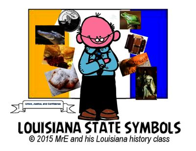 Official Louisiana State Symbols Social Studies And School