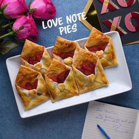 Does anyone actually send love letters anymore? Send your valentine something better this year: pie! Pies in envelopes, to be specific.