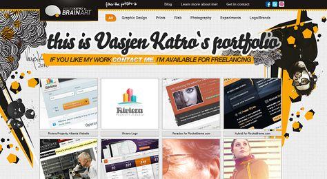 30 Portfólios de Design Gráfico que Aconselhamos!