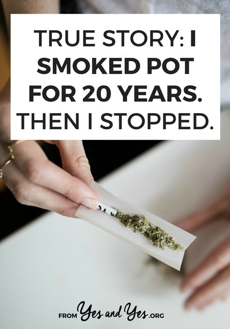 An interview with a woman who smoked pot for 20 years and how she finally quit smoking.