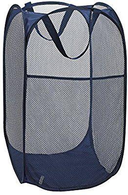 Amazon Com Mesh Popup Laundry Hamper Portable Durable Handles