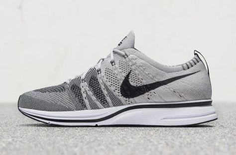 1fc0d314ce1f Release Date  Nike Flyknit Trainer Pale Grey