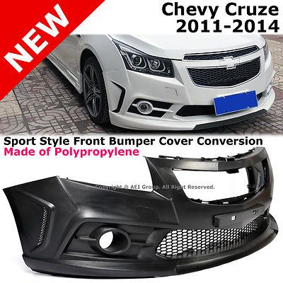 Fits 09 19 Nissan 370z Ns Style Front Bumper Cover Conversion Unpainted Black Pp Chevy Cruze Cruze Chevy Cruze Accessories