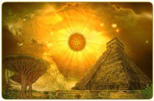 Mayan Ascension by stramp1a | Aztec art, Mayan, Mayan culture