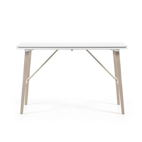 Console Table Extensible Aruna 130 X 45 90 Cm Taille 6 Pers