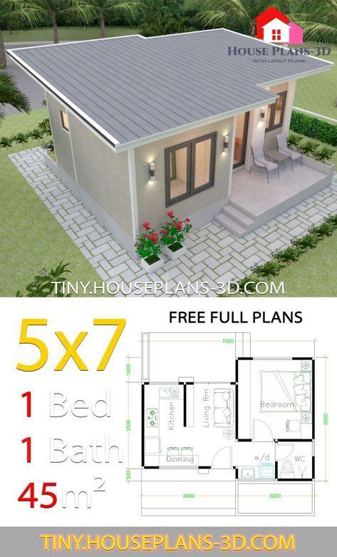 30 Ideas For Tiny House Design Plans Bedrooms Planos De Casas Pequenas Planos De Casas Pequenas Modernas Contruccion De Casas