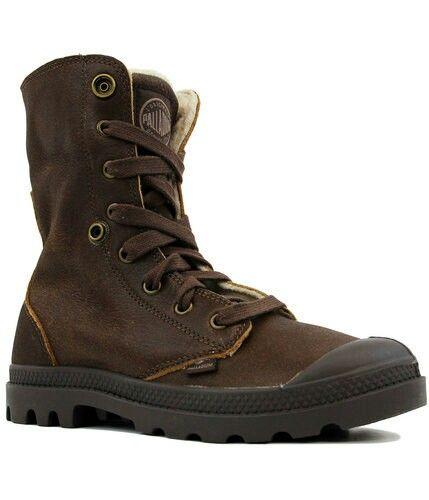 Palladium Baggy Leather Fs Retro Sherpa Trim Boots Brown Boots Palladium Boots Palladium Shoes