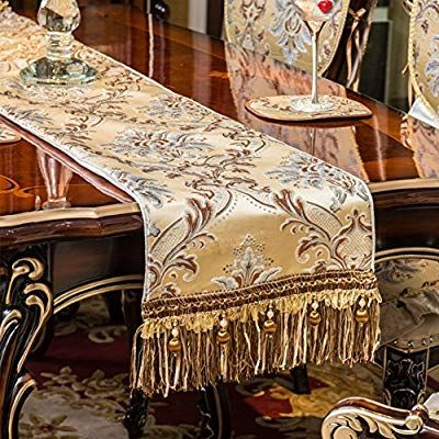 Amazon Com Afdsdgfdgdf Table Runner European Style Upscale Luxury