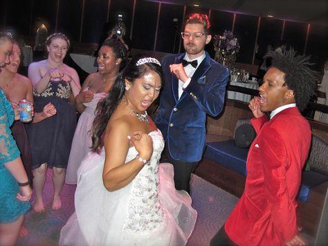 Epcot Living Seas VIP Lounge - Orlando Wedding DJs - Gabby &