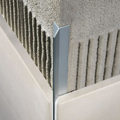 Profile De Finition En Aluminium Pour Carrelage Pour Angle Exterieur Filojolly Rjf Profilitec Avec Images Carrelage Interieur Idee Salle De Bain Carrelage Terrasse