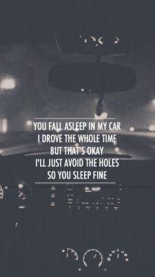 "Twenty One Pilots Lyrics twenty one pilots tear in my heart ""i'm driving here i sit cursing"